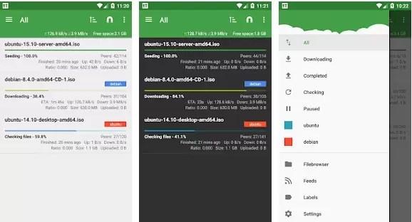 As melhores aplicações de torrent para smartphones 9