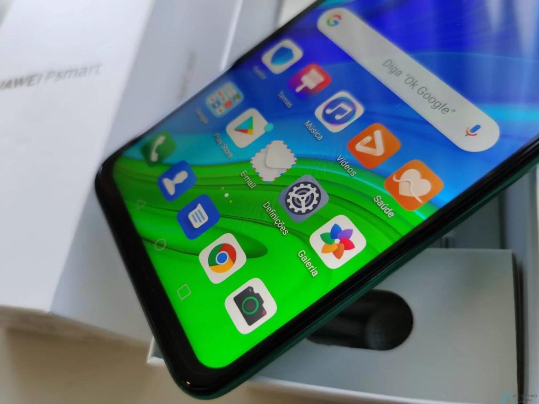 Primeiras impressões Huawei P Smart 2020. Um novo smartphone Huawei com serviços Google 10