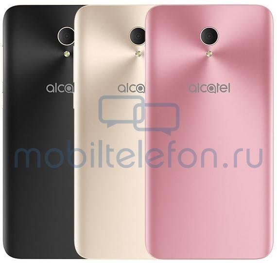 Renders mostram quatro novos telefones Alcatel 3