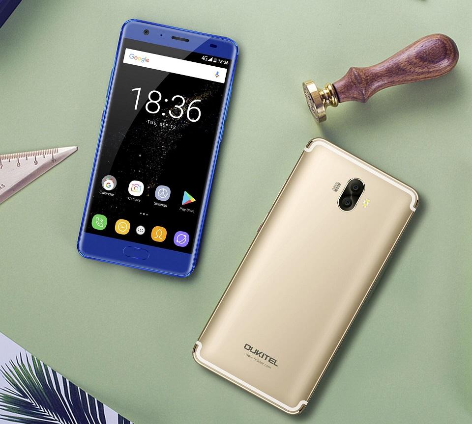 Oukitel K8000 com 8000mAh de bateria e 5,5 polegadas Samsung AMOLED display 4