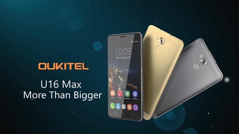 Oukitel mostra em vídeo o seu novo U16 Max 1