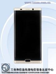 %name Gionee M2017 com especificações e imagens mostra bateria de 7000 mAh, Dual camera e ecrã curvo 2K image