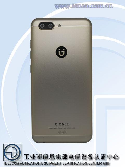 Gionee S10 com especificações e renders listado online na TENAA 2