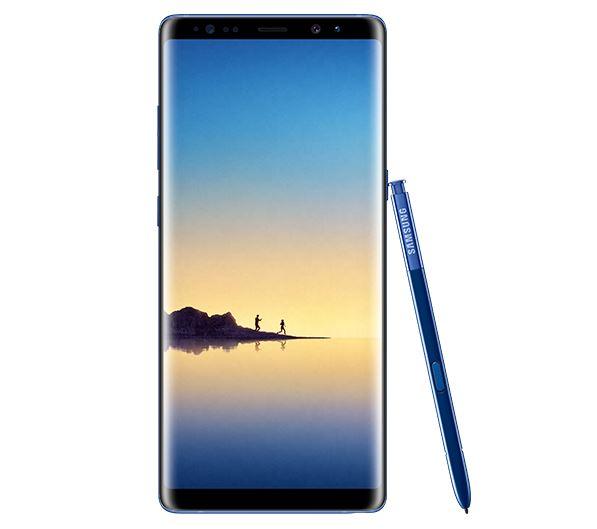 Galaxy Note 8 na cor Deep Blue Sea - Render de imprensa 1
