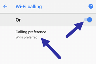 turn on wi fi calling on android 291120