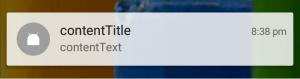 Inbox Style Notification Like Whatsapp