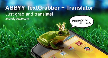 TextGrabber + Translator 1.13 download software to extract text from printed sources