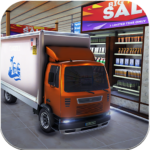 Supermarket Cargo Transport Truck Driving Sim 2019 1.5 APK MOD Unlimited Money