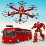 Drone Bus Robot Car Game – Transforming Robot Game 1.2.1 APK MOD Unlimited Money