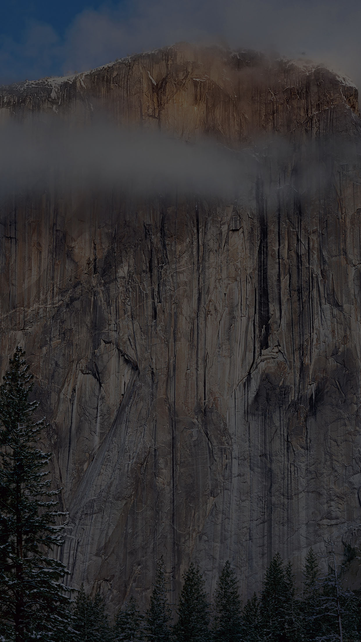 os x yosemite dark wallpaper apple android wallpaper - android hd