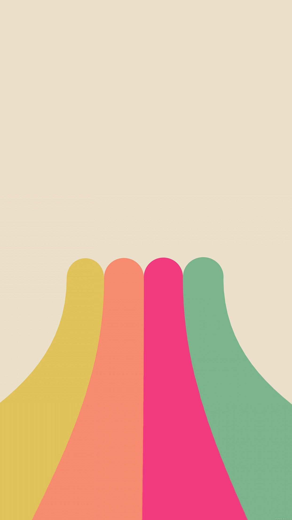 Cute Bikes Wallpapers Rainbow Simple Minimal Abstract Pattern Android Wallpaper