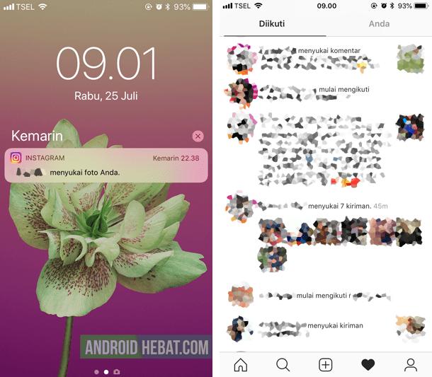tersuka tanpa sengaja instagram