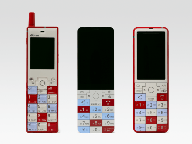 Infobar series phones from KDDI