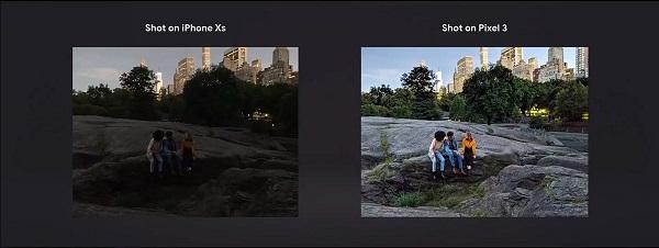 Google Pixel 3 Camera Image