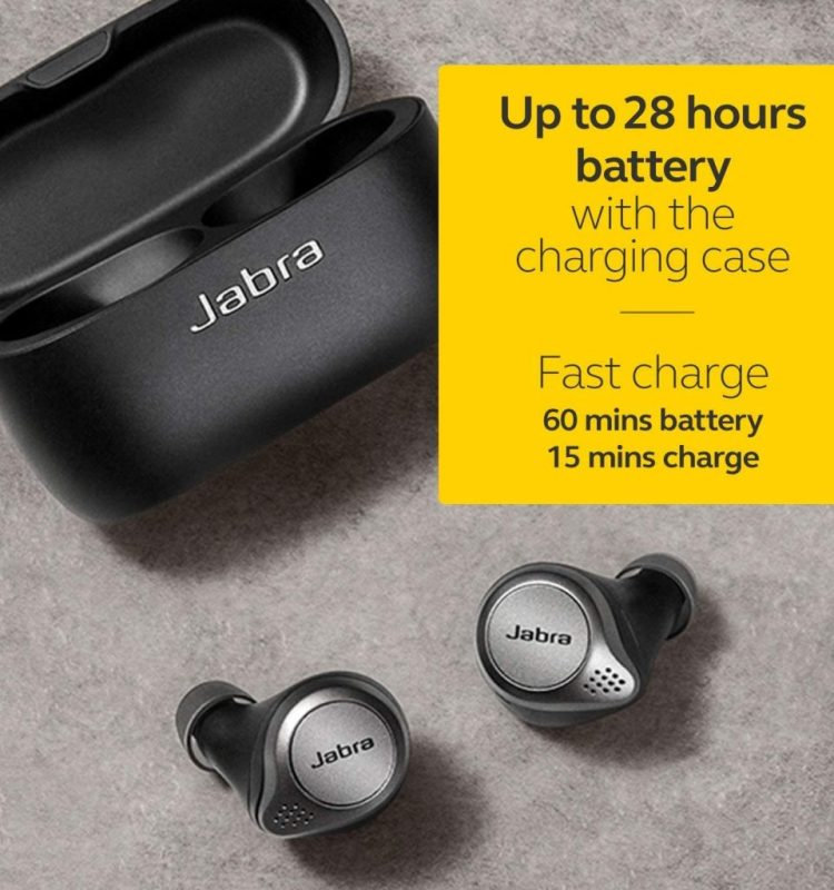 Jabra Elite 75t in Ear Earbuds Short Review