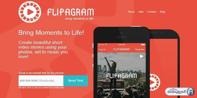 Download software converts video images Flipagram