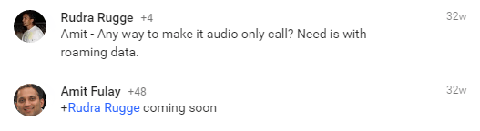 Google Duo head Amit Fulay confirms voice calls will be coming later
