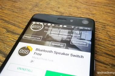 Bluetooth Speaker Switch