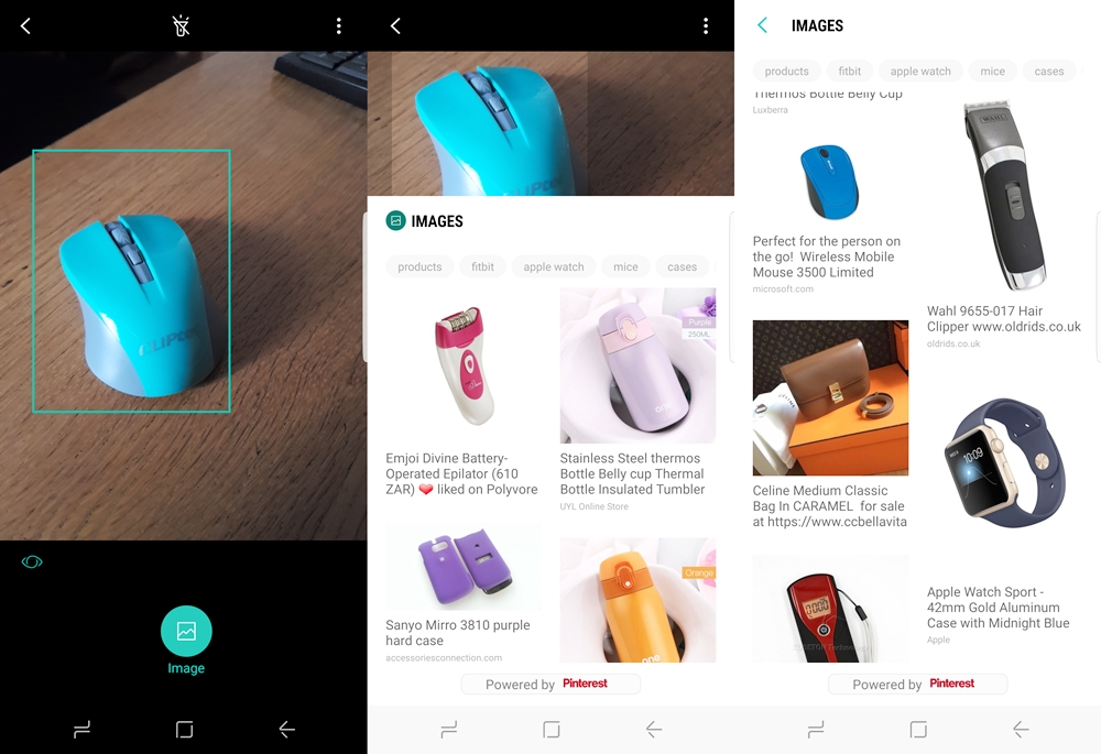 Bixby, the personal assistant on the Samsung Galaxy S8, is