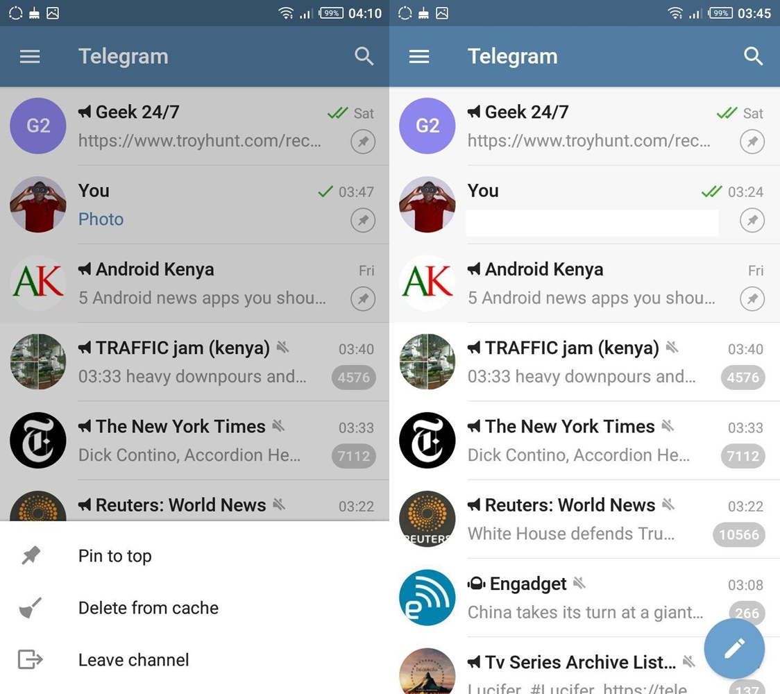 WhatsApp lets you pin 3 chats to the top