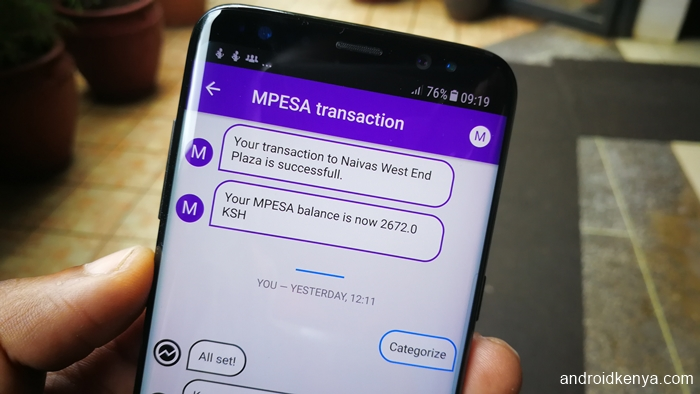 Overview: a fresh new mobile ledger app for the M-Pesa user
