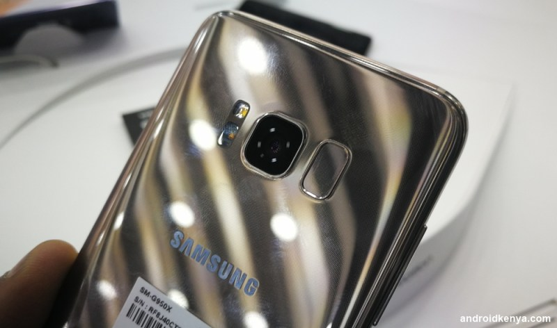 Samsung Galaxy S8 - fingerprint scanner