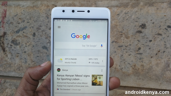 Google Now gets pushed to a corner with the arrival of a news feed on the Google app