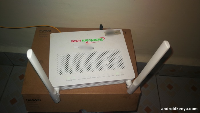 My Experience With Safaricom Home Fibre