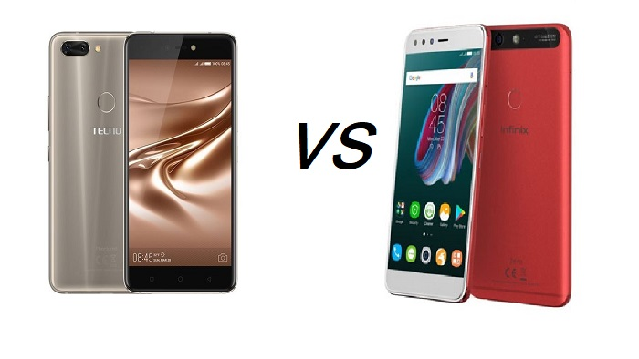 Tecno Phantom 8 vs  Infinix Zero 5 - Specs, features and prices compared