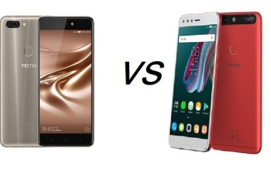 Tecno Phantom 8 vs Infinix Zero 5