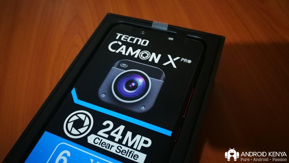 Tecno Camon X Pro: Impressions