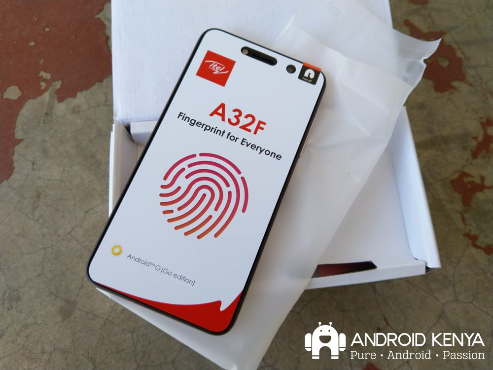 itel A32F: The cheapest Android Go phone in Kenya offers