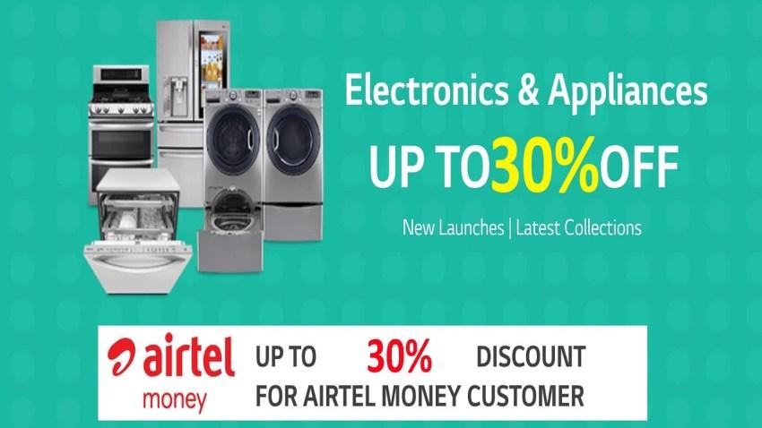 LG Kenya and Airtel Kenya promotion