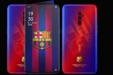 FC Barcelona Oppo Reno 10x Zoom
