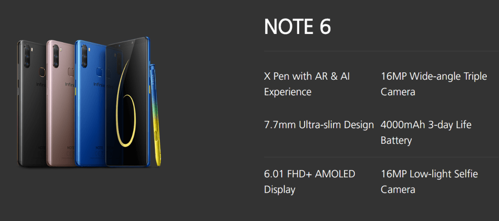 Infinix Note 6-6