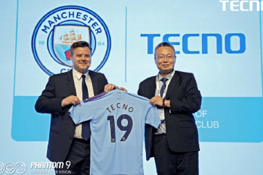 Tecno ManCity partnership