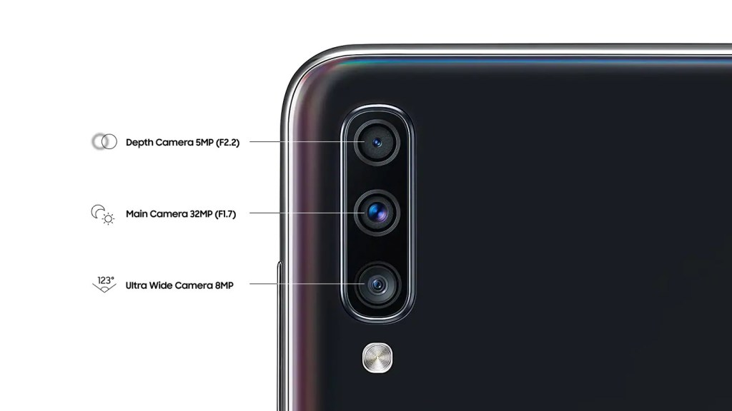 Samsung Galaxy A70 camera gets dedicated night mode and QR