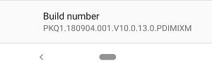 Xiaomi Mi A2 August update firmware
