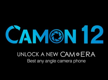 Camon 12 camera logo