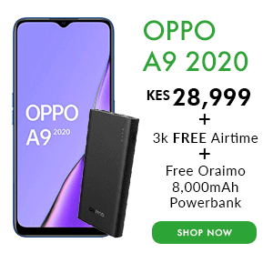 Oppo A9 2020 Safaricom deal