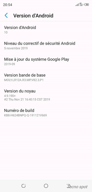 Tecno Spark 3 Pro Android 10 update-4