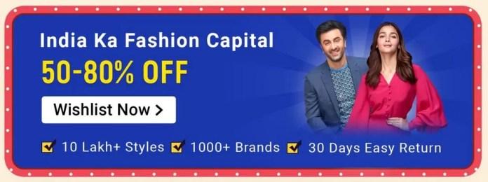 Flipkart Fashion Big Shopping Days