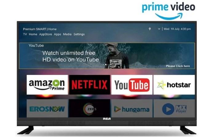 Best Smart TV Under 20000 Price RCA 108 cm (43 inch) Full HD Smart LED TV
