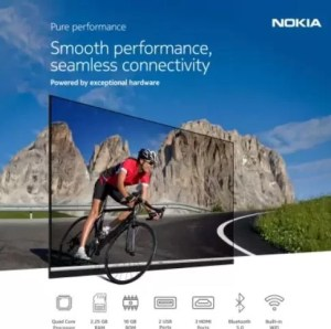 Nokia Smart Android LED TV 55 inch Ultra HD (4K) ( 55CAUHDN) Price Specifications