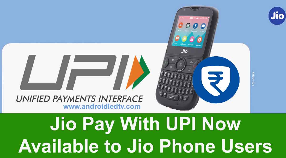 Jio Pay UPI Service