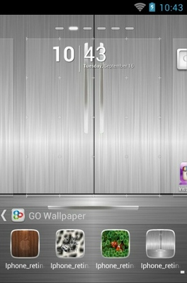 Cute Love Wallpaper Iphone 4s Iphone 4s Android Theme For Go Launcher Androidlooks Com