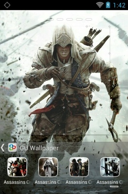 Weed Girl Wallpaper Download Assasins Creed Android Theme For Go Launcher