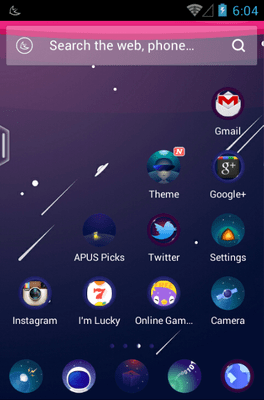 Cosmic Girls Wallpaper Cosmos Android Theme For Apus Launcher Androidlooks Com