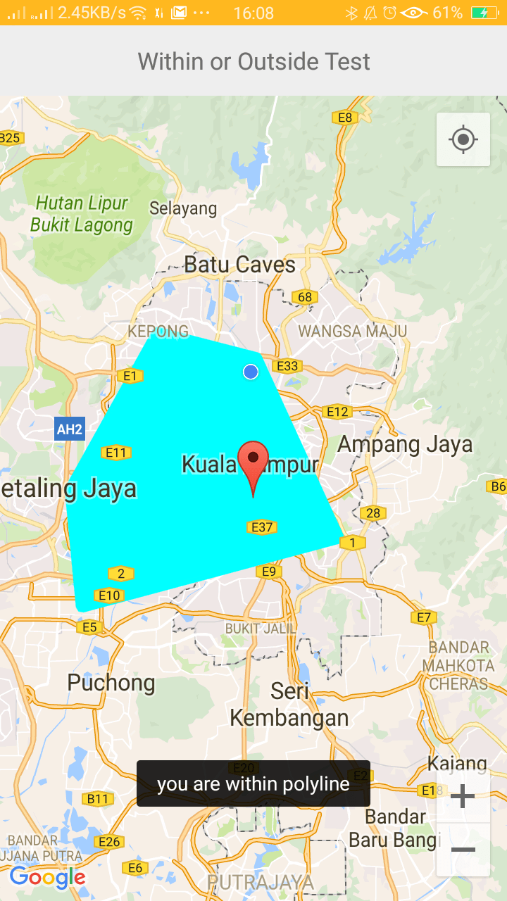 Android Google Maps V2 with custom info window with click Listener ...