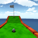 Cartoon Minigolf Spiel 3D